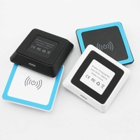 Mini QI Wireless Charging for LG Nexus 4 5 7 Charger Pad USB mobile phone chargers for galaxy s3 s4 note 3 Nokia Lumia 920 820