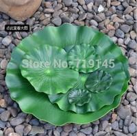 DIA 29cm artificial PE small LOTUS LEAF diy wedding home pool decoration water lily leaf