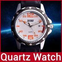 2014 New Quality Fashion Brand Silicone Band Men Watch Clock Men Quartz Watch For Man Waterproof Casua Dressl Watch Wristwatch