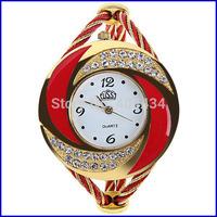 New arrivals fashion designer, women's rhinestone quartz watches, bracelet watches women dress watch free shipping 1000pcs