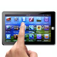 "7"" inch WinCE 6.0 HD Car GPS Navigation MTK 128MB Bluetooth avin + 4GB + Free Map Europe Russia navitel"