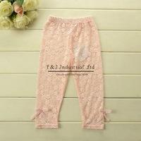 New 2014 Girls Leggings Pink Kids Pants Soft Cotton Girl Legging Chirldren Pants Kids Clothes