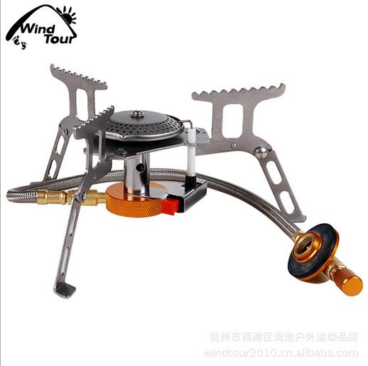 Outdoor Burner Stove Burner Split outdoor camping gas stove burners flat cylinders SMT012(China (Mainland))