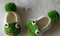 2014 new baby boy/girl Sandals exclusive custom models of Frog Shoes free shipping