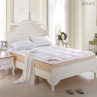 Белая королева Размер кровати защиты pad стеганый матрац protectorel полиэфир/хлопок ткань больше размера