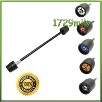 Front Fork Axle Slider Fit For ZX6R 03 04 05 06 2003-2006 FASKA001
