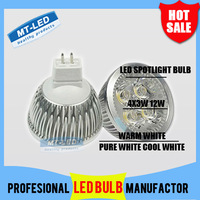 X10 Good Price Free High power MR16 3x3W 4X3W  5X3W Led lighting Cree Led spotlight  cast alumium lamp cup led bulb lamps