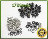 Complete Fairing Bolts Kit For Kawasaki Ninja ZX6R ZX 6RR 2003-2004 03 04