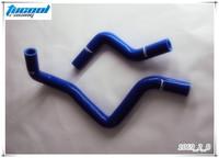 Free Shipping Silicone Radiator Coolant Hose Kit for Civic EK EG SOHC Radiator Hose Kit 2pcs No. 1069 Blue