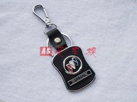 Free shipping Ornament buick 4 s store custom gift * * creative logo key * leather key chain * key ring Christmas