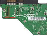WD HDD PCB logic board 2060-701537-003 REV A for 3.5 SATA hard drive