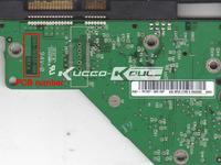 WD HDD PCB logic board 2060-701537-004 REV A for 3.5 SATA hard drive