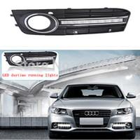 Automotive LED daytime running lights -16 LED-for Audi A4L - 12V car waterproof