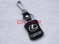 Free shipping 4 s lexus car key chain store custom gift * * creative logo leather key chain * key ring Christmas