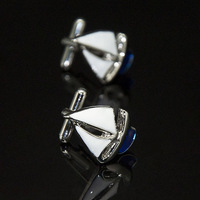 Accept Customized High Quality Customized Wedding Gifts Navigation Sailing Ship Cufflinks