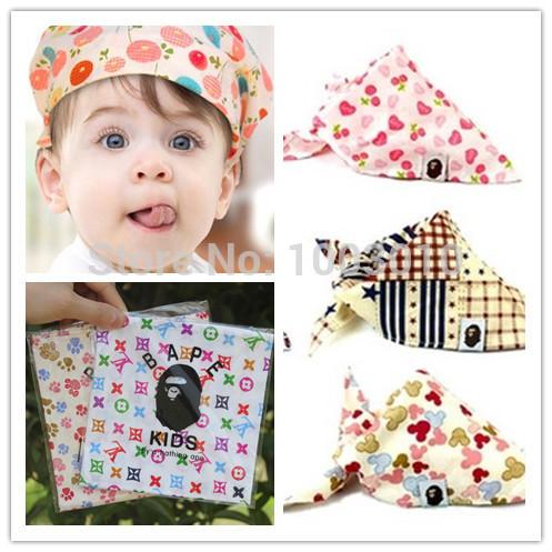 New Fashion Carters Baby Bib Toddler Bandana Bibs Saliva Towel Dribble Triangle Boys Girl Cotton Head Scarf For Feeding Kid Wear(China (Mainland))