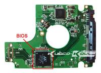 HDD PCB logic board 2060-701572-002 REV A for WD 2.5 SATA hard drive repair data recovery