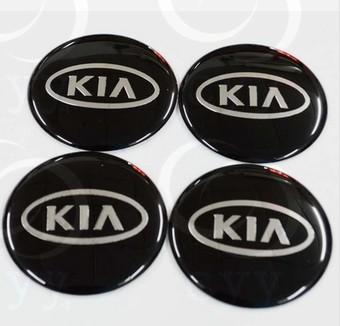 free shipping Car wheel hub black label for kia k2 rio 2011 2012 2013(China (Mainland))