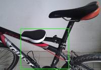 bicycle saddle mountain bike child seat folding chairs