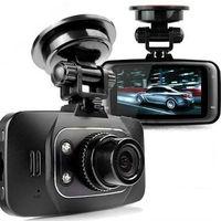бесплатный подарок Автомобильный видеорегистратор камеры w / 6 ИК привело и 90 градусов зрения угол автомобиля dvr 270 градусов поворачивается падение судоходство h198 рекордер автомобиля камер