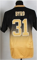 Free shipping - #31 Jairus Byrd Men's Drift Fashion II Elite Football Jersey , Embroidery and Sewing Logos
