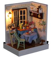 DIY Gift handmade House Model dollhouse