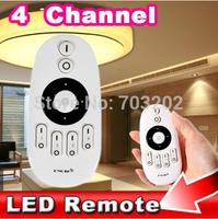 4 channel  2.4G LED light remote controller RF Remote Controller Brightness Color Temperature Adjustable