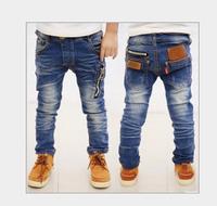 Spring 2014 new children's clothing boys wild baby jeans children trousers new Korean version