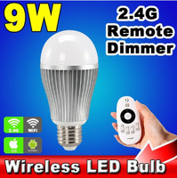 Mi.light 2.4G LED Bulb with Remote Control System Color temperature and brightness adjustable together