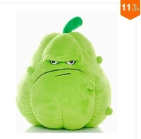 2014Free Shipping 25cm High quality PP cotton squash in Plants vs zombies,1pc sale retail &wholesale