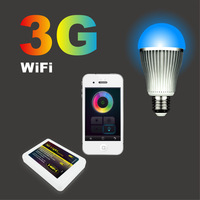 Smartphone control wifi enabled LED bulb Apple and android application