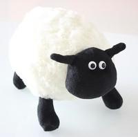 25cm mini size soft cute fat Shaun sheep creative plush toy,stuffed TV/animation doll, graduation&birthday gift for children 1pc