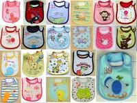 2013 Hot Sale Cotton Baby Bib Infant Saliva Towels Min.order is $10 (mix order) Free Shipping 21kind U choose Number