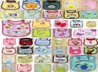 (mix order) Free Shipping Cotton Burp Cloths Baby Bib Infant Saliva Towels 39 kind U choose 10pcs
