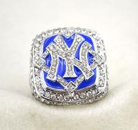 free shipping replica MLB 2009 New York rhodium plated Baseball Word Champions Ring jewelry