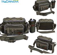Multifunctional fishing bag lure waist pack lure box live fish buckle combination Super big bag'