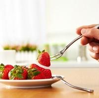 12pcs Stainless steel western cutlery dessert fork ,cake fork ,snacks fork ,coffee fruit knives free shipping
