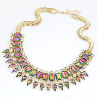 Promotion Jewelry Gift New style fashion Brand personality punk necklace jewelry for women