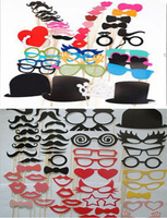 Free Shipping  Classic 94 PCS Classic 2014 Newly Style Romantic lovely wedding photobooth props/ party photoprops