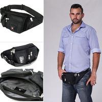 Men Waist Pack 2014 Men's Purses Casual Waterproof Cloth Oxford Bag Outdoor Pockets Sports Men Travel Bags Male Waist Packs