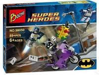 KAZI-Bozhi 98050 Catwoman Batman Building Block Sets 98050 Super Hero Educational DIY BricksToys For Children; FREE SHIPPING