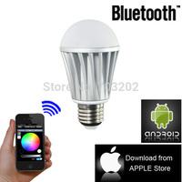 smart phone control bluetooth led light bulb  Timer function Bluetooth bulb /Iphone control bluetooth rgb led bulb