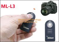 ML-L3 Infrared Remote Control for Nikon D3200 D7000 D5100 D80 D90 D600 D7100. Selfie Remote Control
