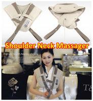 Free Shipping Neck Shoulder Massage Belt Safe & Easy Use Cervical Vertebra Massage Spine Massage Cape High Quality Factory Price
