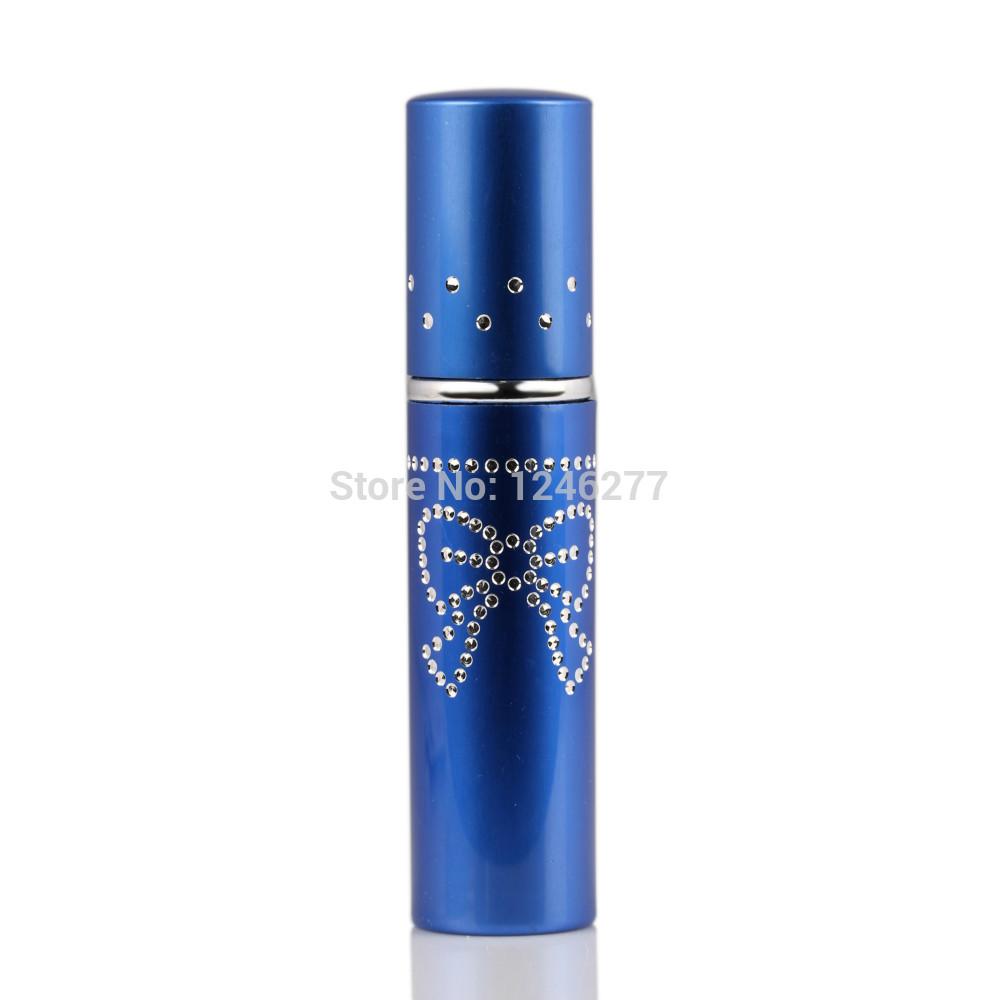 Free Shipping 10ML Refillable Atomizer Metal Aluminum Empty Perfume Spray Bottles Mini Travel Size(China (Mainland))