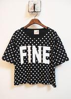 NEW 2014 fashion women girl casual clothing shirts t-shirts tops tee women t shirt creative plus size t shirt loose  t shirts WA