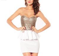 2014 new hot women summer dress fashion cozy girl dress slim low bosom backless women dress package buttock evening sexy dress