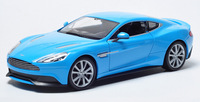 Welly 1:24 Scale Model Car Aston Martin 2014 Vanquish Car Model - Sky Blue,Gold,White