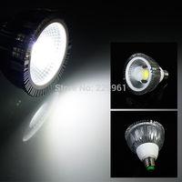 10pcs/lot High Power 20W E27 COB Par38 LED light Spotlight Bulb Lamp 2000lm Cool/Warm White Free shipping