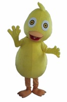 2014 Hot Sale Yellow Duck Adult Size Fancy Dress Cartoon Mascot Costume